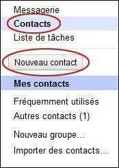 Créer et gérer vos contacts sur Gmail