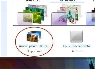 creer un diaporama de fonds d ecran sur windows 7 1