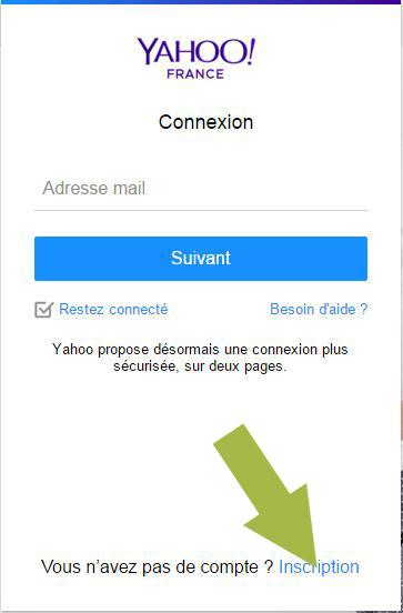 creer une boite mail yahoo 2