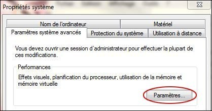 desactiver l animation des fenetres sur windows 7 4