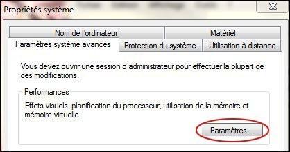 desactiver l animation des fenetres sur windows 7 4