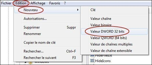 desactiver les bulles d informations sur windows 7 2