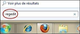 Désactiver les bulles d'informations sur Windows 7