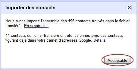 importer des contacts sur gmail 3