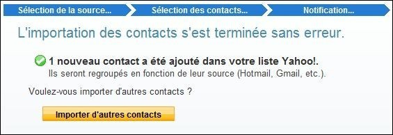 importer des contacts sur yahoo mail 4