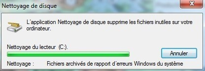 nettoyer son disque dur sur windows 7 6