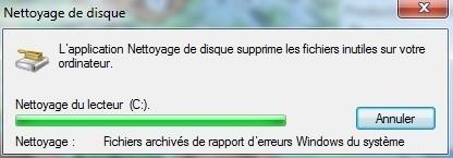 nettoyer son disque dur sur windows 7 6