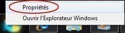 Supprimer la liste des documents récents sur Windows 7
