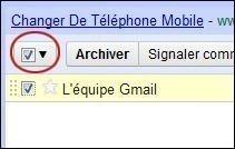 supprimer ou deplacer un mail sur gmail 2