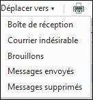 supprimer ou deplacer un mail sur hotmail 1