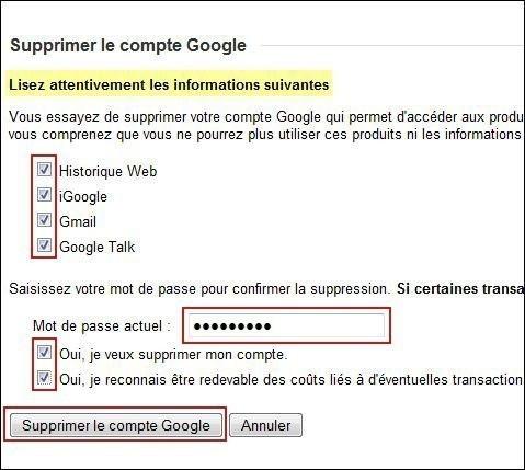 supprimer une boite gmail 4