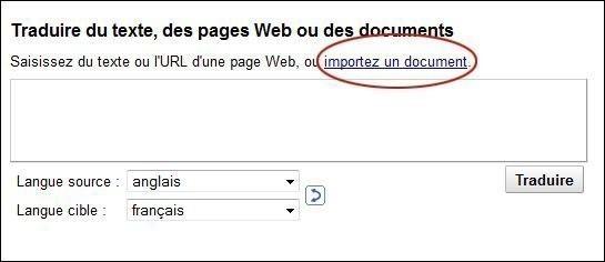 traduire un document sur google 1