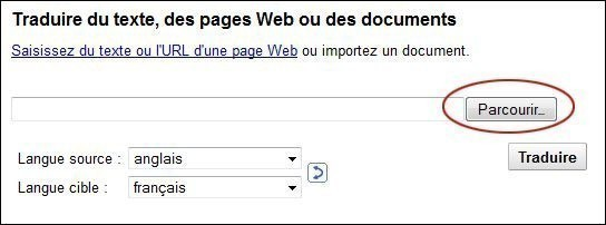 traduire un document sur google 2
