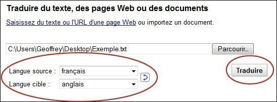 traduire un document sur google 4
