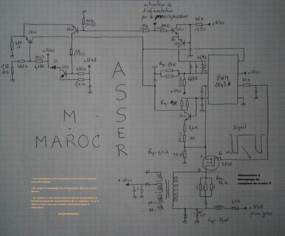 schema d alimentation primaire du compteur scenic ii 2 0