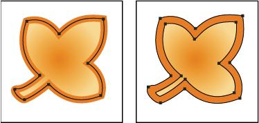decomposer une forme deja existante sous illustrator 0