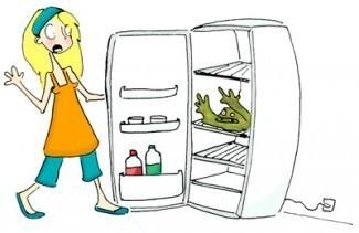 enlever les mauvaises odeurs de son refrigerateur 0