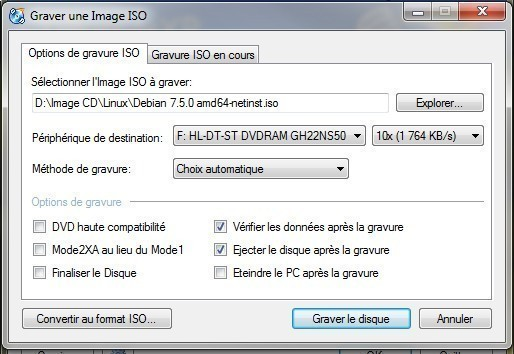 installer linux debian 7 wheezy sur pc ou vm 7