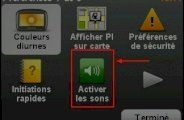 Activer désactiver le son dans le GPS TomTom ONE