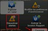 Désactiver les alertes radars dans le GPS TomTom ONE