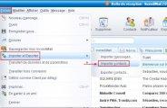 Importer les contacts de Outlook Express dans IncrediMail