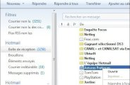 Windows Live Mail transferer un email 0