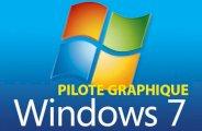 Comment désinstaller le pilote de la carte graphique Windows 7