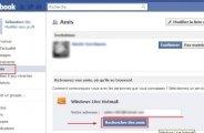 Ajouter vos amis msn hotmail sur facebook