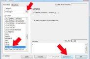 Moyenne sous OpenOffice