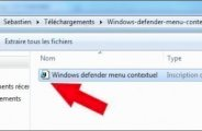 Scanner un seul dossier avec Windows Defender