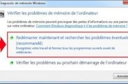 Test mémoire Windows 7