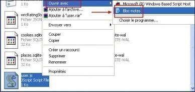 Activer copier coller dans Firefox pour un site Web 4