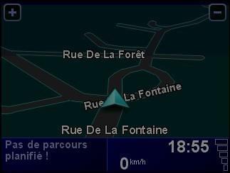 Activer desactiver les couleurs diurnes dans le GPS TomTom ONE 4