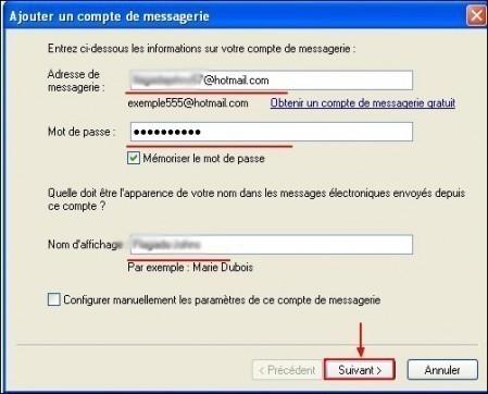 Ajouter un compte Hotmail sous Windows Live Mail 1