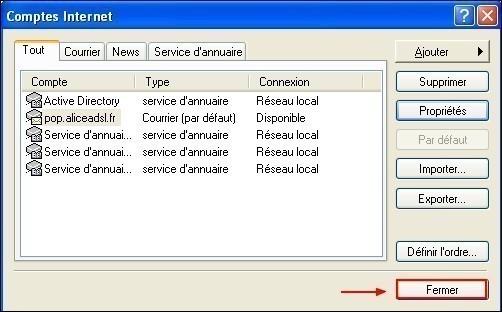 Configurer Outlook Express pour conserver une copie des messages recus 3