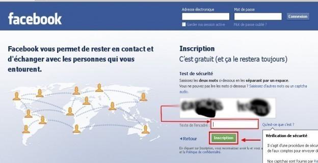 Creer un compte facebook 1