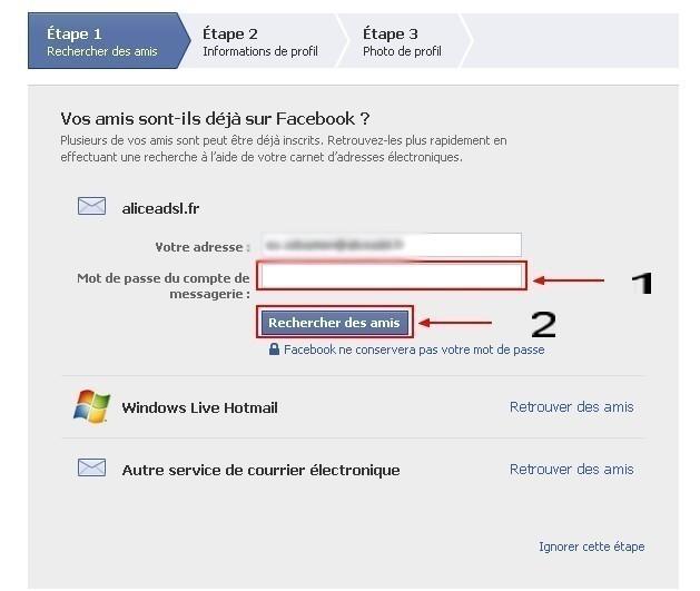 Creer un compte facebook 2
