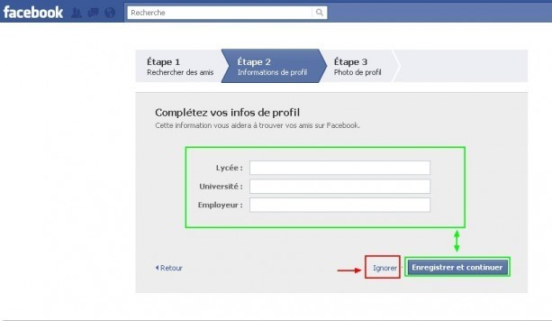 Creer un compte facebook 4