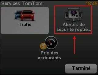 Desactiver les alertes radars dans le GPS TomTom ONE 3