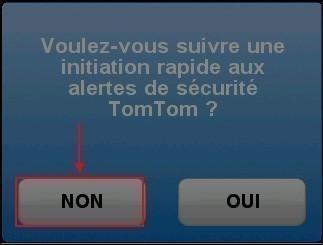 Desactiver les alertes radars dans le GPS TomTom ONE 4