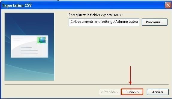 Exporter son carnet d adresses sous Windows Live Mail 5