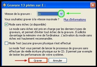 Graver des fichiers mp3 en CD audio avec Winamp 3