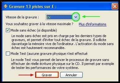 Graver des fichiers mp3 en CD audio avec Winamp 3
