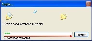 Modifier le dossier de stockage sous Windows Live Mail 9