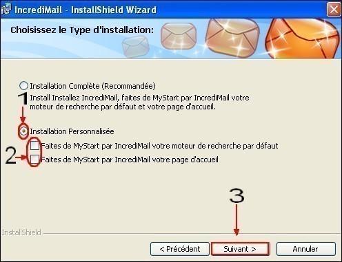 Telechargement installation presentation de IncrediMail 5