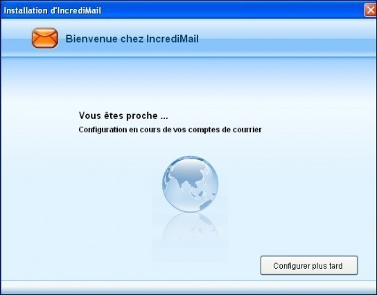 Telechargement installation presentation de IncrediMail 10