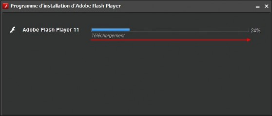 Telecharger et installer Adobe Flash Player 5
