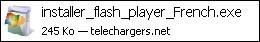 Telecharger et installer Adobe Flash Player 1