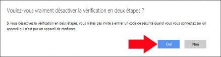 activer desactiver la double authentification windows live 5