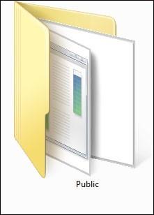 activer desactiver le partage du dossier public de windows 7 0